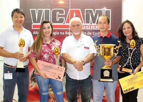 Vicami comemora os três primeiros lugares no Concurso de Bastos