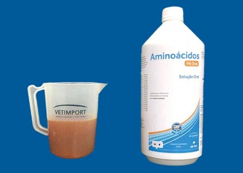 Vetimport traz ao Brasil o Aminoácidos Vit Oral