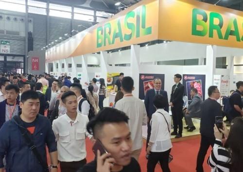 Exportadores de aves e suínos fecham US$148,7 milhões no SIAL China 2019