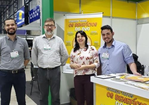 Instituto Ovos Brasil divulgou o ovo na Capital Nacional do Ovo