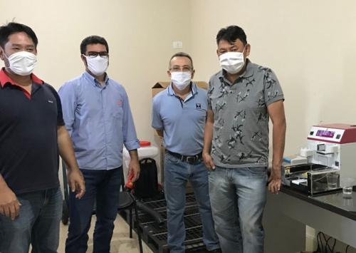 Vetanco oferece análise de qualidade do ovo a clientes de Bastos e região