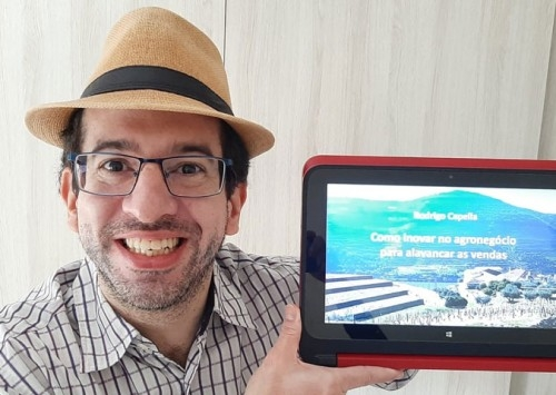 Rodrigo Capella lança novo livro para inovar no agronegócio e vender mais