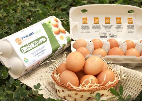 Katayama Alimentos estreia no mercado de ovos orgânicos caipiras