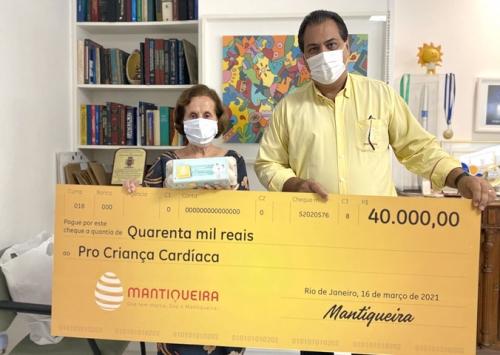 Com Ovos Solidários, Grupo Mantiqueira faz mais uma doação ao Pró Criança Cardíaca