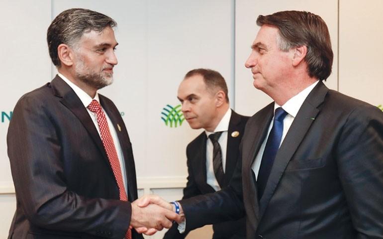 Cdial Halal avalia positivamente jantar na CNA com Jair Bolsonaro