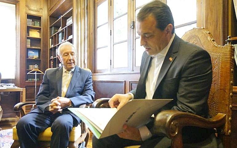 Governador de Santa Catarina aceita convite para o SIAVS 2019