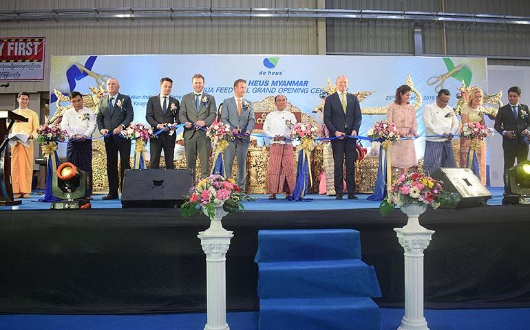 De Heus amplia-se na Espanha e em Myanmar