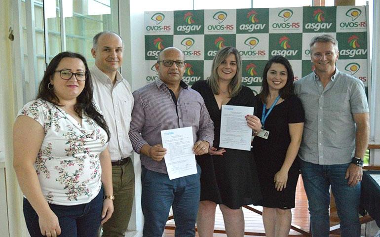 Ovos RS firmam parceria com SENAI-RS para programa de certificação
