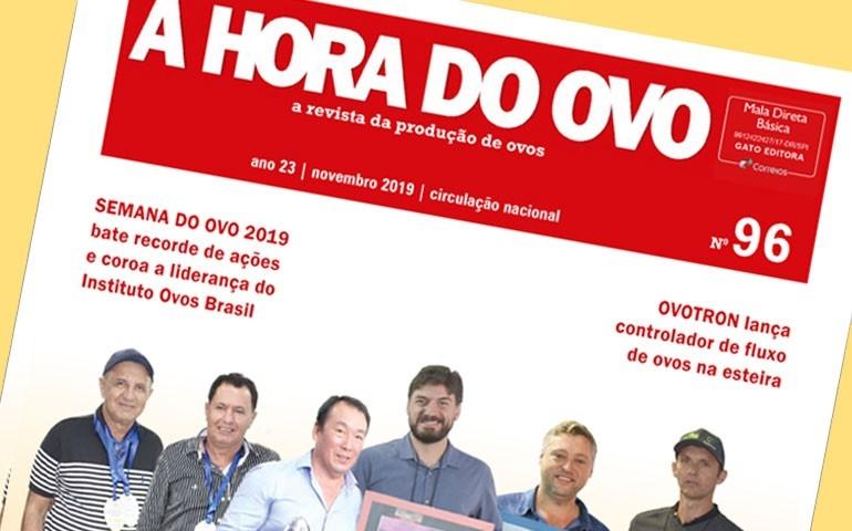 A Hora do Ovo 96 destaca concursos de qualidade no país e Semana do Ovo 2019