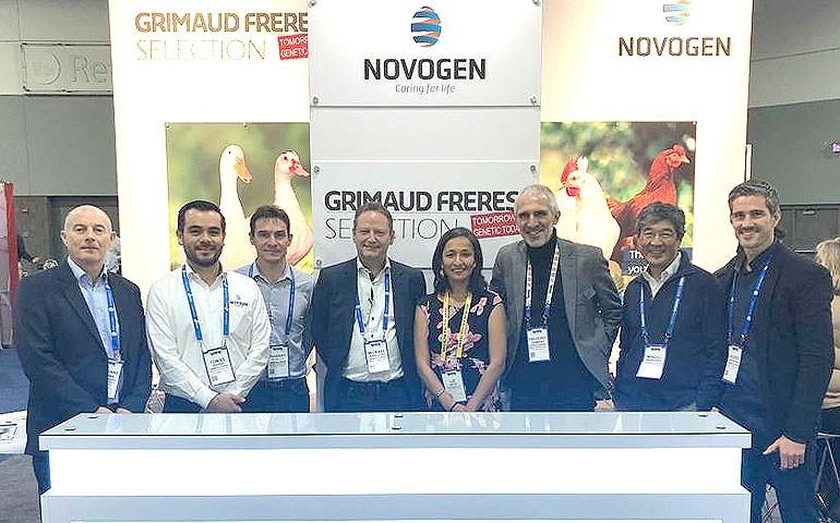 Novogen recepciona clientes e participa com sucesso da IPPE 2020
