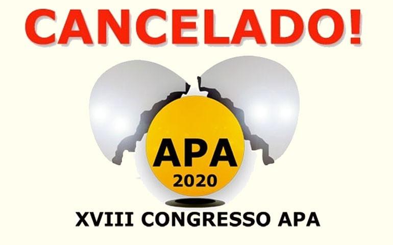 APA cancela 18ª edição do Congresso de Ovos