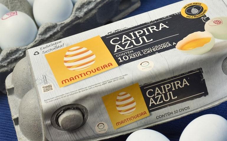 Celebrando o Dia Mundial do Ovo, Mantiqueira lança ovos Caipira Azul