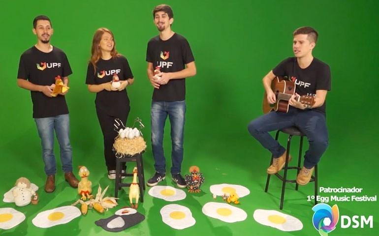 No Rio Grande do Sul, 1º Egg Music Festival promoveu o ovo em forma de música