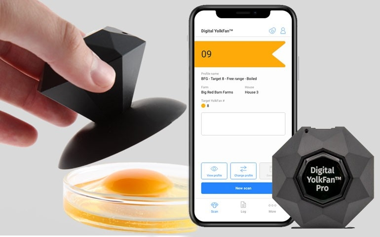 DSM lança 2ª. geração do Digital YolkFan™ com novas funções e app próprio da empresa