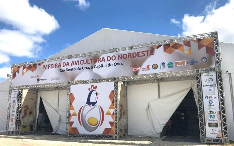 São Bento do Una realiza edição pocket presencial da Feira de Avicultura 2021